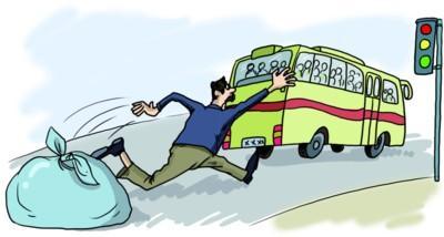 男子打车追3站殴打公交司机 称叫你停车你不停